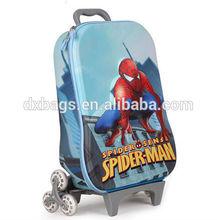 Distinctive EVA 3D spider man trolley suitcase for children (DX-C401)