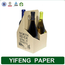 Good design paper leather wine carrier