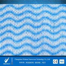 wipe viscose polyester spunlace nonwoven