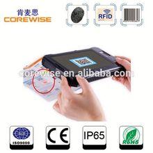 tablet pc - fingerprint, rfid, two-dimensional code