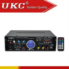 UKC AK-120# Professional Audio Power Amplifier Module with FM/KARA OK/USB