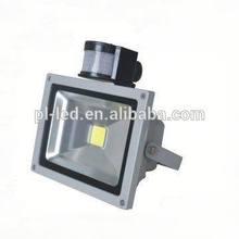 Waterproof IP65 20W led sensor flood light Daylight 6000~6500k