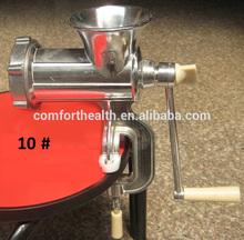 manual meat mincer vegetable mincing machine