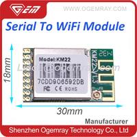 GWF-KM22 MT7681 UART to wifi module embedded wireless networking equipment