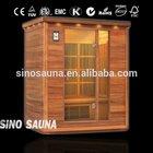 3 person sauna de infrarrojos portatiles with infrared sauna heater tube