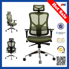 JNS hot sale ergonomic high back swivel chair recliners JNS-511