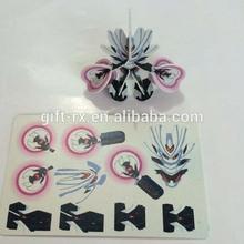 3D pp puzzle/kids jigsaw puzzles/plastic puzzle pieces