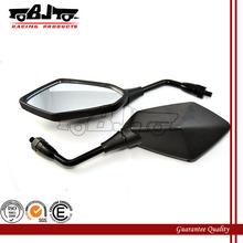 BJ-RM-053A Universal custom plastic housing black motorcycle motorbike side view mirror for Kawasaki ZX7R/ZX7RR