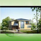 prefabricated luxury villa design