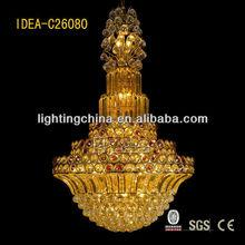 mooois pandex event decor big crystal hanging lamp