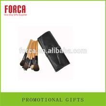 popular girlfriend gift 15 pcs wood professional makeup brushes set