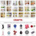 Juta feito de artesanato: uma parada de abastecimento da china: mercado de yiwu para artesanato