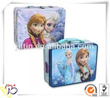 custom printed shipping boxes/kids tin lunch box/custom printed tin box