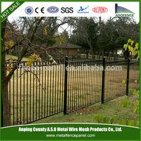 Fence Ornaments,Stockade Fence,Tubular Steel Fence