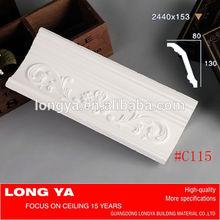 nuova decorazione classico bianco gesso cornicione prezzi per il soffitto