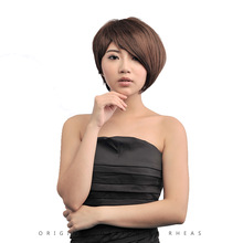 Factory price OEM cool hair style breathe freely kanekalon Synthetic wig