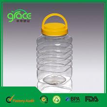 Handle Lid Clear 1.5l PET Bottle