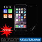$0.4/pcs Wholesale Anti uv anti glare mobile phone screen protector for iphone 6