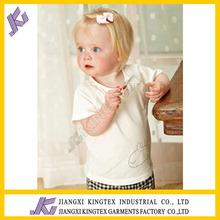 High quality printed giraffe boy's t shirt set, children summer clothing sets,Hot fashion sale baby girls set