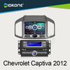 "Hot! 8"" in dash car DVD stereo player GPS navigation for Chevrolet Captiva 2012"