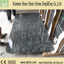 Best Price Green Granite Tombstone Slab