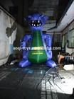 cheap inflatable lighting dinosaur for promotion/advertising inflatable dinosaur cartoon