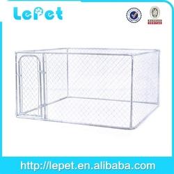 outdoor galvanize tube aluminium dog box