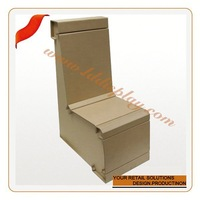 Customize home textile packaging box with gold handle mobile phone store furniture