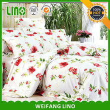 Fashion latest designs for bed covers/wedding bed cover/embroidery bed cover design