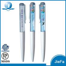 Social Audit By UL, EN 71 Liquid Floating Plastic Ball Pen
