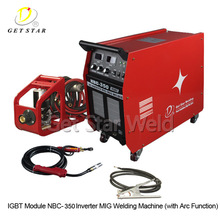 High performance mig-250 igbt inverter co2 mig welding machine