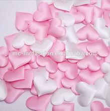 love heart artificial sponge white petals