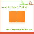 original brand new top quality replacement leather for for apple ipad case