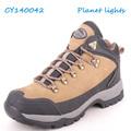 hombres de alta calidad resistente a prueba de agua al aire libre para caminar los zapatos