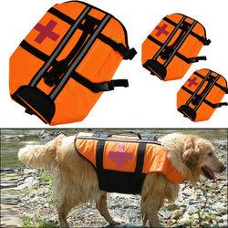 Night Reflective Pet Life Jacket Preservers Bathing Suit