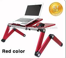 college colored plastic folding laptop desk
