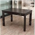 0015 mesa de jantar moderna para restaurante / oval de madeira maciça mesa de jantar