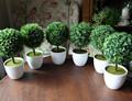2014 cina all'ingrosso sempreverde erba artificiale/erba artificiale in pentola/a buon mercato prezzo erba verde caldo
