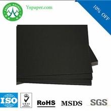 100% virgin pulp laminated black paper for photo album