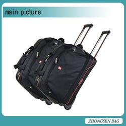 Fashion style cheap trolley travel tool bag