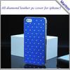 Lovely Back Cover Bling Bling for lovely girl case for iPhone5