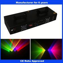 Quad RGYV laser dallas stage lighting