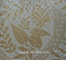 2012 new designs hot sale flower PVC wallpaper
