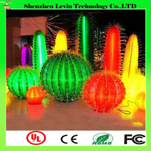 Factory Beautiful Garden Park Good Quality Waterproof Outdoor Decoration LED Cactus Tree Light