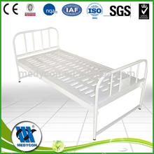Used general hospital room hospital steel flat bed