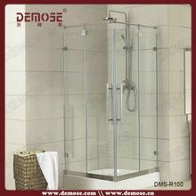 luxury shower room/prefab glass shower room