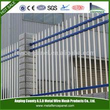 Solid&CE standard steel fence/prefab fence panel steel