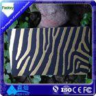 Fashionable Custom size plastic hole punched printing die cut card/irregular card/pvc card