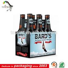 pop oem service custom beer bottle packaging supplier