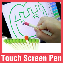 Promotional soft silicone touch screen pen